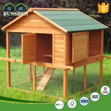 Outdoor Garden Furniture Movable Wooden Chicken House For Sale