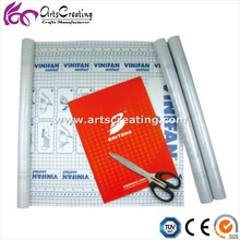 PVC / CPP self adhesive book cover film in rolls for shool
