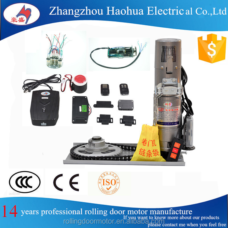 Automatic Garage Door Opener Lift / Rolling Door Motor with CE certificates
