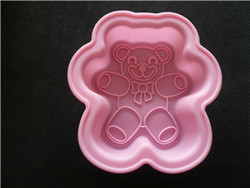 professional silicone cubs lace mold base on custom design