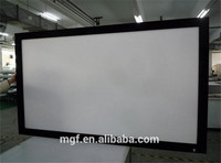 12 CM Frame Screen/Fixed Frame Screen with black velvet/Fixed Projection Screen/HD Images/Home Cinema Projection Screen