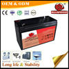 portable 6V agm solar street alarm battery bank 12v 7ah ups battery