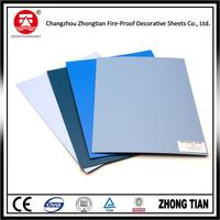Hot selling exterior laminate plastic decking wall panel with low price