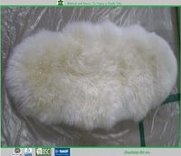 double stitching sheepskin rugs