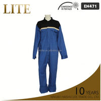 reflective safety antistatic oil resistant coverall