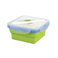 FDA & LFGB silicone material square take away food containers