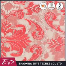 Direct sale trendy luxury decorative metalic embroidered sheer fabric