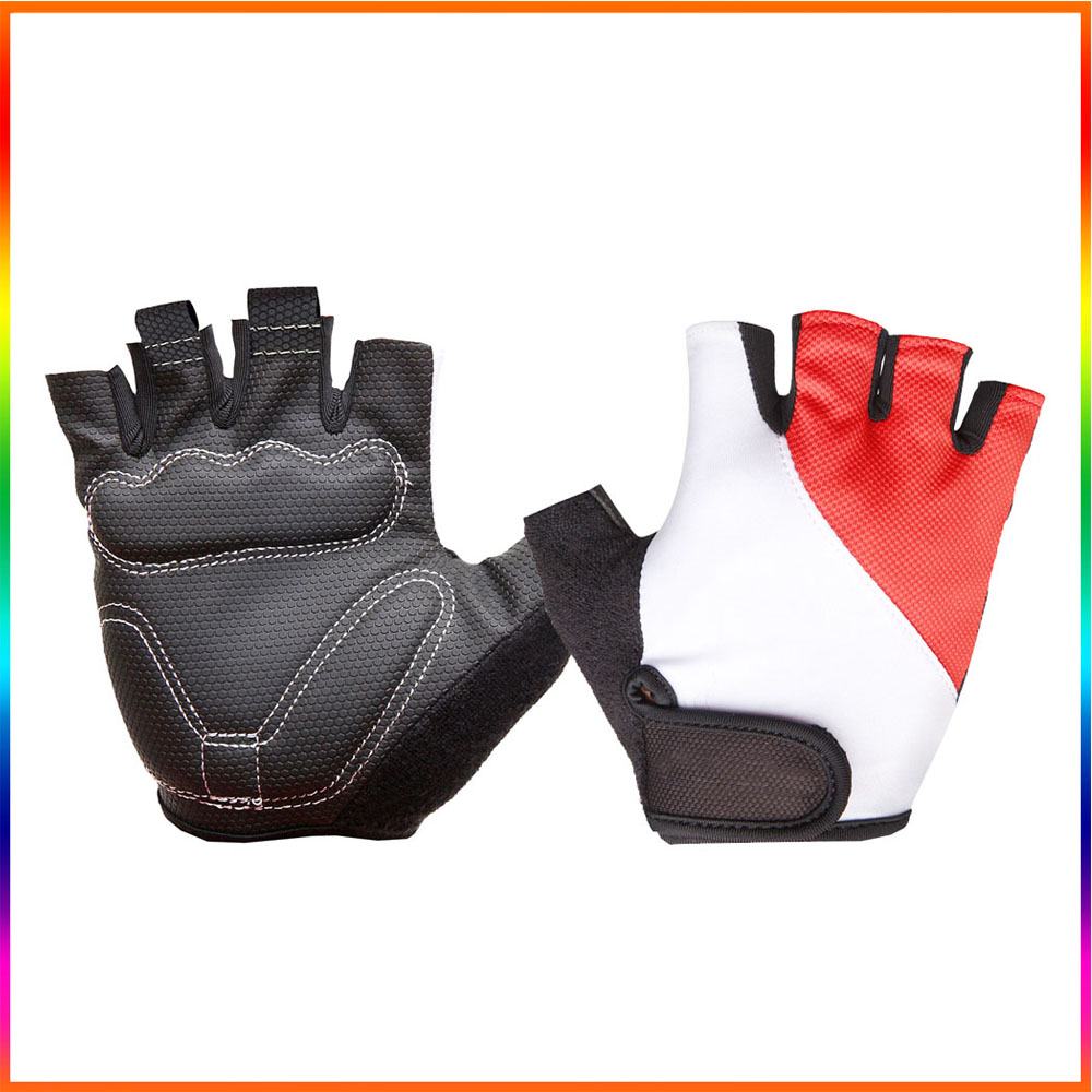 Anti-slip cycling/racing/bicycle gloves silicone gel for 2017