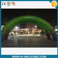 Customized outdoor advertising promotion use inflatable arch / archway with double layer for sale