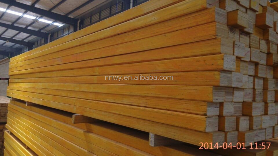 Hot sale Australia cheap pine LVL /outdoors laminated veneer lumber/formwork construction LVL