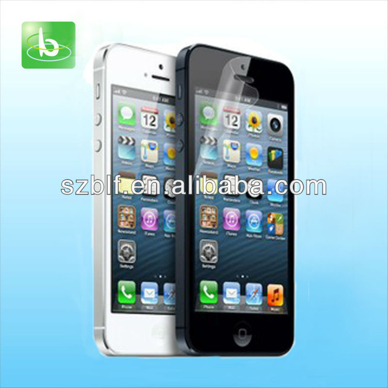 shine screen protector for iphone 5 with factory price