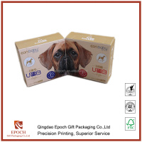 dog health care medecine packaging paper box