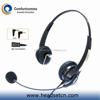 Fashionable 2.5mm telephone call center cheapest headset