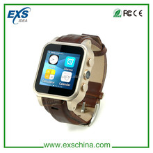 Smart Watch Phone Android 4.4 GPS Wifi MTK6572 Waterproof 3G cell phones watch OEM ODM Development factory