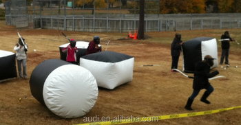 Inflatable Paintball Archery Tag bunkers for sale