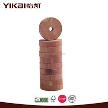Bulk insectproof ring cedar blocks