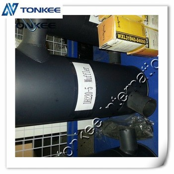 high quality excavator muffler exhaust muffler for DH220-5