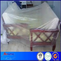 Moving Plastic Disposable PE Furniture Sheet