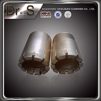 Dr.s high efficiency geological diamond core drill bit for hard rock