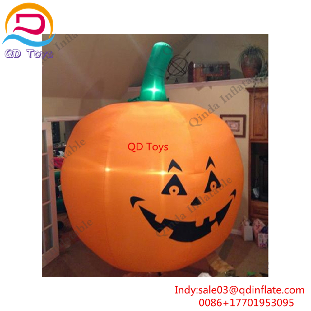 Giant halloween inflatables Qinda toys inflatable halloween pumpkin,giant inflatable pumpkin