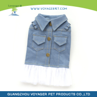 Lovoyager Brand new jean dog clothes for dog wholesales product