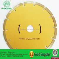600mm With W Cutting Teeth Stone Diamond Cutter Granite Stone Circular Cutter Diamond Saw Blade Manufacturers in China