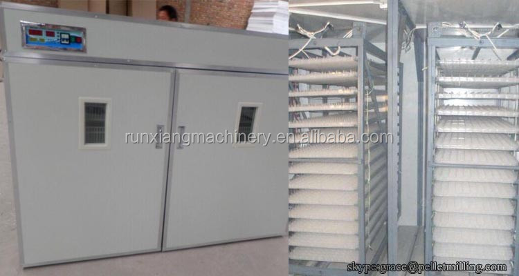 Top selling newly design full automatic egg incubator hatching 1232 eggs for sale