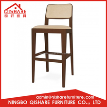 Factory direct provides wooden 2012 new barstool
