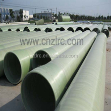 High Pressure Fiberglass GRP Pipe GRP coating pipe