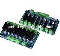 8 Channel Solid State Relay Module Board OMRON SSR AVR DSP Ardu 250V 2A