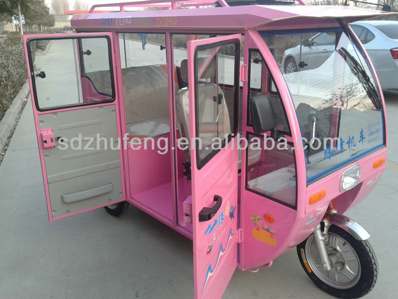 big loading capacity electric rickshaw