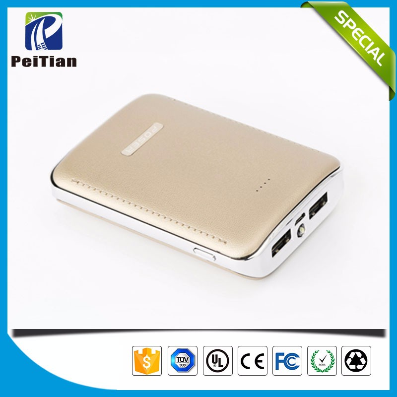 Manufacturer supply 7800mAh phone rechargeable power bank