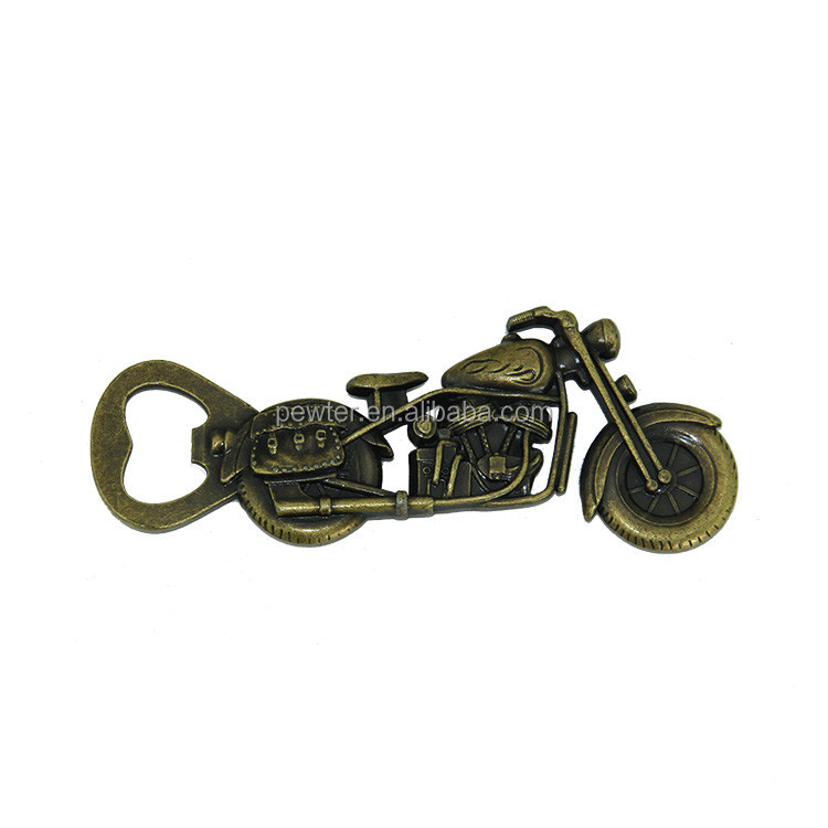 Harley motorcycle cheap beer bottle opener for custom,promotion beer bottle opener for wholesale