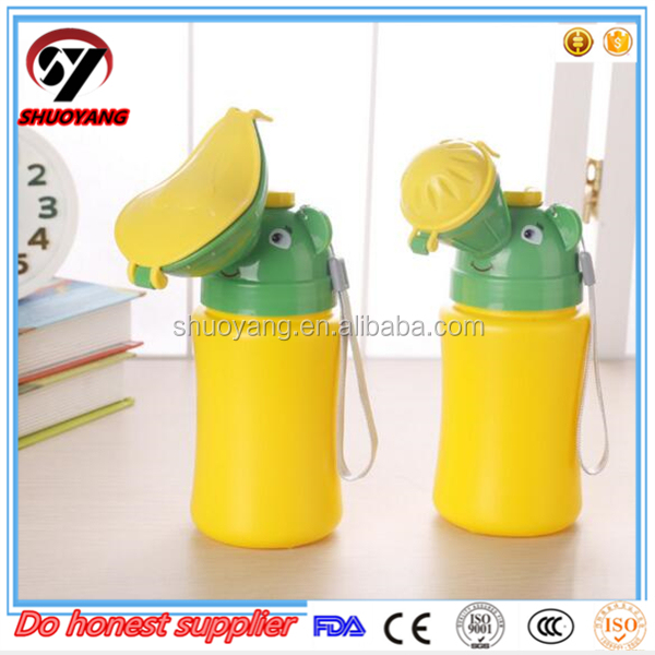 Factory Wholesale Portable Urine collector Urinal pee pot for children