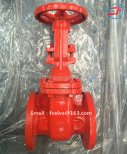 ANSI handwheel rising stem cast steel gate valve