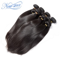 New Star Brazilian hair, cuticle aligned virgin eurasian human hair, 100% human hair