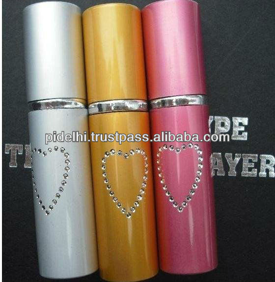 15 ml of mini type pepper spray; lipstick antiriot spraying