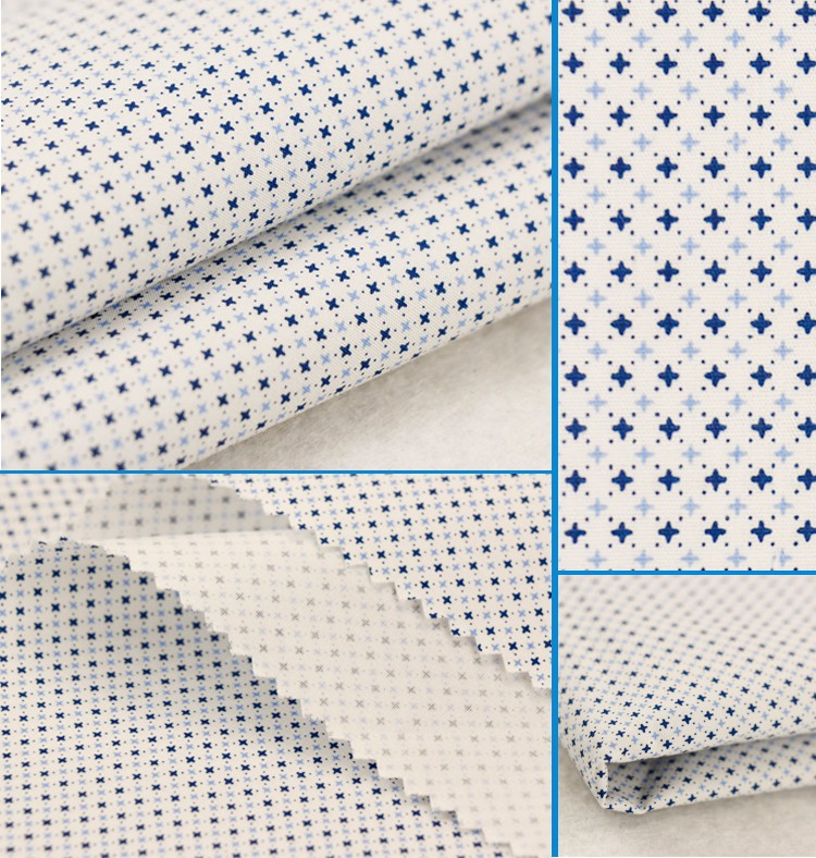 2018 man shirt fabric boys casual shirt fabric 106gsm 50x50 100 cotton poplin fabric