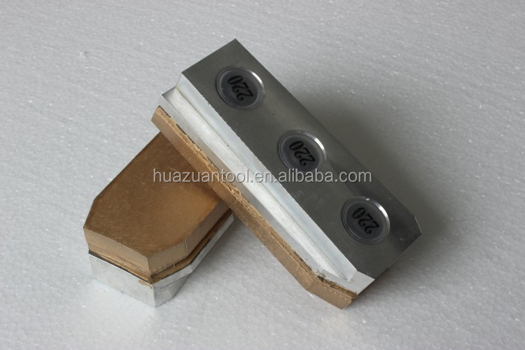 Huazuan Metal Bond Diamond Fickert Abrasive for granite slab