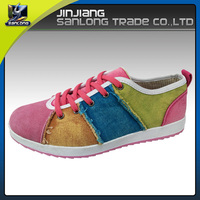 new style high quality best casual canvas flat shoes
