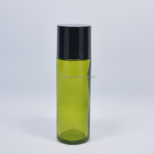 100ml cosmetic packaging green glass bottle for cosmetic