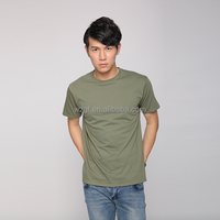 Wholesale 100 Cotton Plain Men O Neck T-Shirt