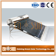 Superior bulk sale heat pipe solar water heater residential