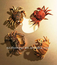 resin home decorative miniature statue simulation crab figurines