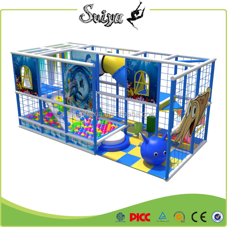 New Style Play Station Fitness Colorful Indoor Playground
