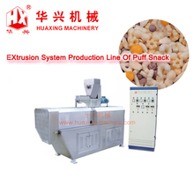 good quality puffed extruder snack machine