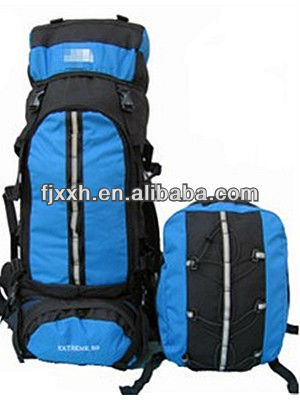 70L high grade nylon mountaineer bagpacks