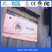 pixel pitch 6mm outdoor led display electronic manufacturer Super slim P6 hd outdoor full color led screen