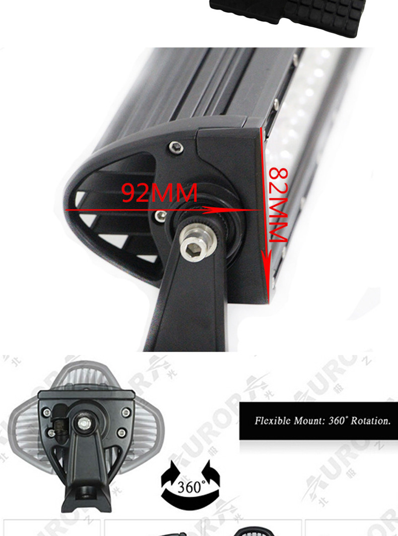new products spares parts 4d led light bar