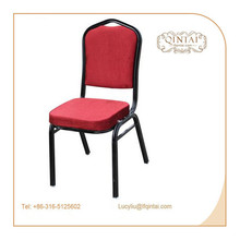 Wholesale stacking iron tube banquet chairs for sale